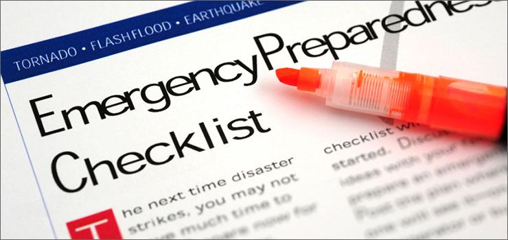 Emergency Check List